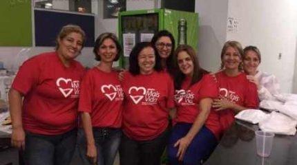 Voluntárias do Grupo Mais Vida organizam campanha de doação de sangue e cadastramento de medula
