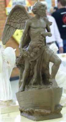 Obra Asas da Liberdade do escultor Eraldo Lacerda