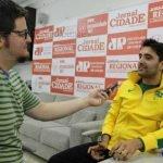 Tricampeão dos Jogos Parapan-Americanos, Carbinatti esteve no Grupo JC na última terça-feira para conceder entrevista