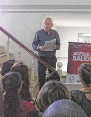 Em junho, o provedor da entidade apresentou o Movimento Nacional das Santas Casas e Hospitais Filantrópicos no SUS