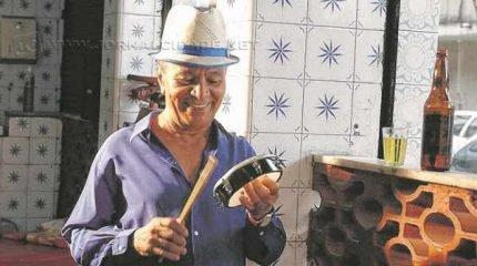 VELHA GUARDA - O músico Monarco é referência do cancioneiro popular e se tornou líder da Velha Guarda da Portela