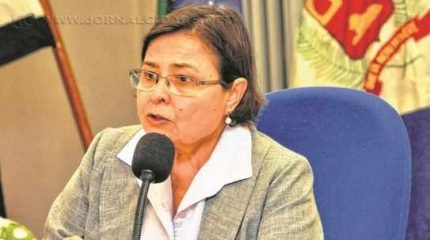 Olga Salomão, vice-prefeita e responsável pela Sepladema