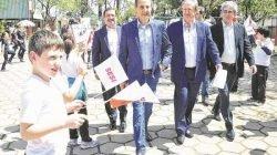 Paulo Skaf esteve em Rio Claro e participou de uma homenagem ao ex-atleta Pedro Kleiner