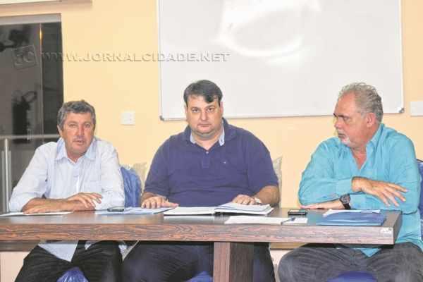 A expectativa é que Ronaldo Penteado (ao centro) assuma a presidência do Partido Progressista em Rio Claro