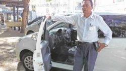 Taxista há 12 anos, Ozeir Gomes de Oliveira comenta sobre os efeitos da clandestinidade