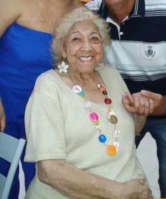 Dona Floriza Stein foi presença de destaque no desfile das escolas de samba de Rio Claro