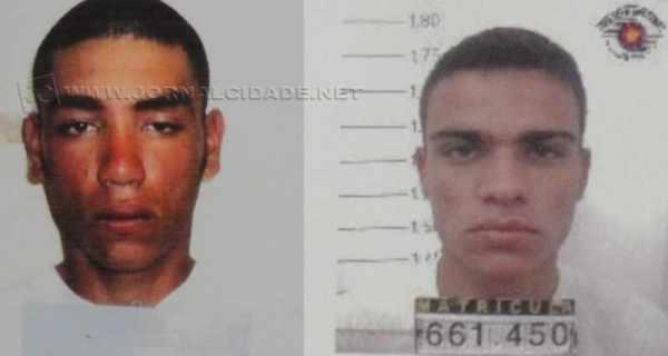 À esquerda, Rafael Henrique Rocha, de 31 anos. À direita, Cristiano Araújo da Silva, de 25 anos que efetuou os disparos e matou o médico