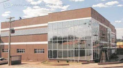Foto de arquivo da nova sede do Legislativo gertrudense, que está sendo construída em Santa Gertrudes