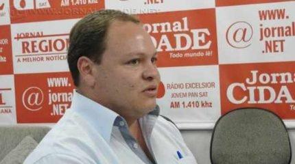Secretário Municipal de Obras Rodrigo da Costa Mussio