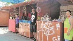Consumidores podem conferir a exposição de novos produtos nas barracas da Rua 1