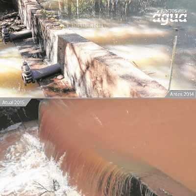 """Na imagem de divulgação, Córrego Santa Gertrudes no """"Juntos pela Água"""" - www.juntospelaagua.com.br"""