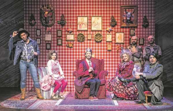 Escrito por Rogério Falabella, espetáculo teatral infantil fica em cartaz no sábado (19) e no domingo (20), às 16 horas; a peça conta a história de um lugar fictício chamado Felizlândia