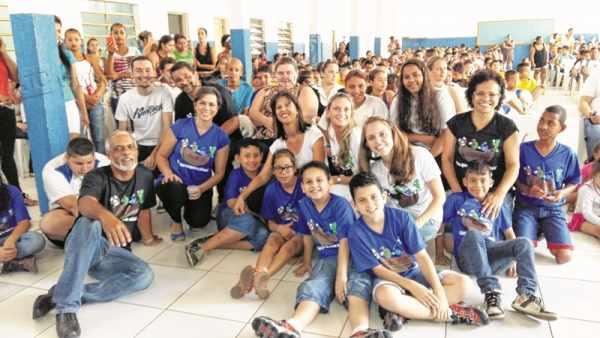 Evento foi elaborado com a participação de todos os docentes, funcionários e pais de alunos