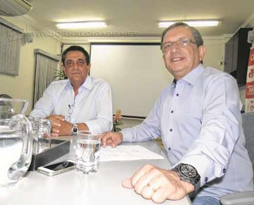 O empresário Assed Bitar Filho, diretor do Depar da Fiesp, e João Luiz Zaine, gerente regional do Ciesp de Rio Claro