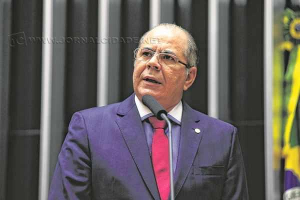 Na imagem, o autor do principal projeto de lei, o de nº 215/2014 - Hildo Rocha, do PMDB do Maranhão