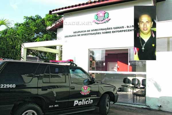 Novo homicídio em Rio Claro. Rafael Diniz (foto detalhe) foi morto a tiros no Jardim Brasília