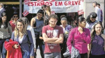 Bancários de todo o País estão em greve desde o dia 6 de outubro, portanto há dezoito dias