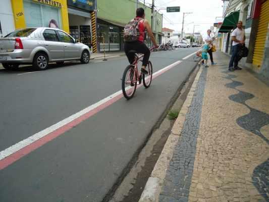 Prefeitura destaca que Rio Claro possui 28 km de ciclofaixas e estimula o uso de bicicletas
