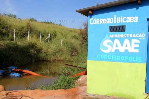 Presidente do SAAE informa que diversas medidas estão sendo tomadas e que nova ETA já foi licitada e aguarda verba