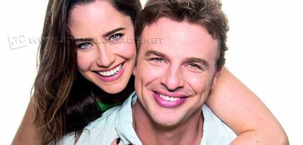 Os atores Fernanda Vasconcellos e Cássio Reis se apresentam em Araras