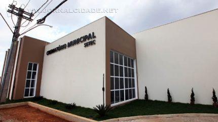 Fachada do prédio do Crematório Municipal de Campinas (foto divulgação)
