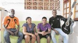 Chrisnel, Yvena, Jeanwood e Chrisnot tiveram contato direto com a funcionária no PAT da Cidade Azul Arlete Lima Garcia