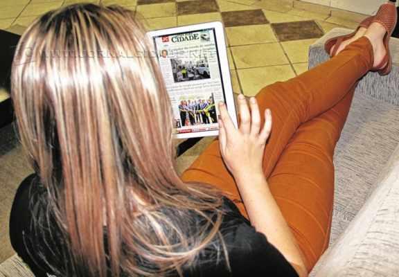 Agora um aplicativo exclusivo poderá ser usados pelos assinantes para lerem as edições do JC pelo celular ou tablet