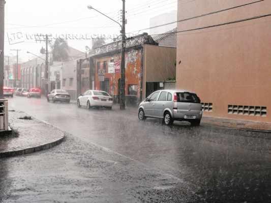 Até o momento foram registrados 98 dias de chuva neste ano contra 100 dias em 2014
