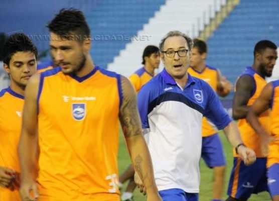 Flávio Trevisan chegou com Estevam Soares no Paulistão deste ano, quando o Galo Azul estava ameaçado pelo rebaixamento