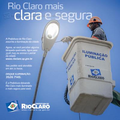 Publicação feita pela Prefeitura de Rio Claro no Facebook (Imagem: reprodução)