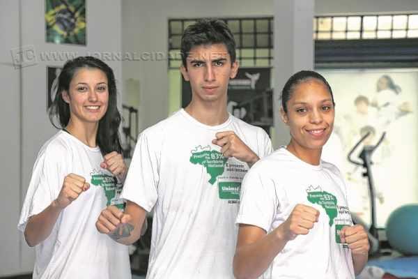 Os atletas Talisca Reis, Guilherme Dias e Talita Djalma seguem em busca da sonhada vaga nas Olimpíadas do Rio 2016