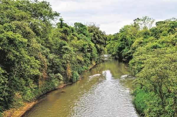 O Rio Corumbataí é responsável pelo abastecimento de 60% da cidade de Rio Claro