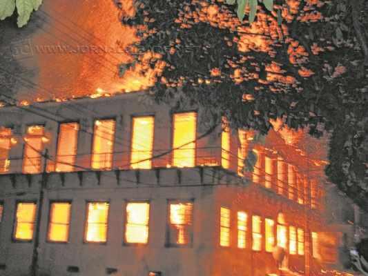 Em 2010, na semana do aniversário da cidade, o museu foi incendiado