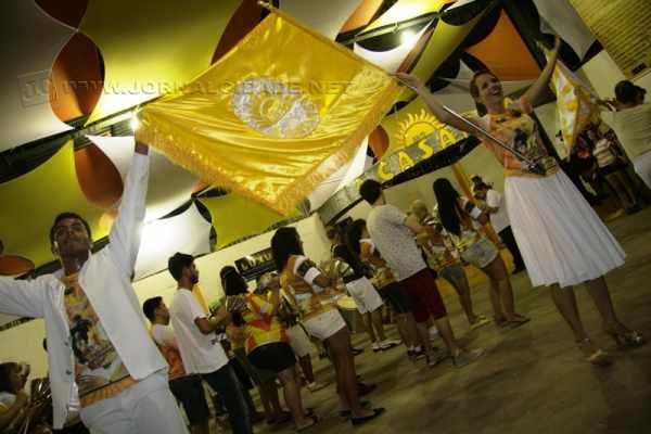 Além dos membros da escola, os pavilhões da Samuca, Grasifs e UVA também marcaram presença (Foto Arquivo)