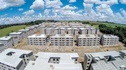 No total, 2.096 moradias estão sendo construídas, no maior investimento feito no setor em Rio Claro.