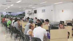 Contribuintes podem ir até o Atende Fácil para imprimir boletos do IPTU com antecedência ou pedir a isenção do imposto