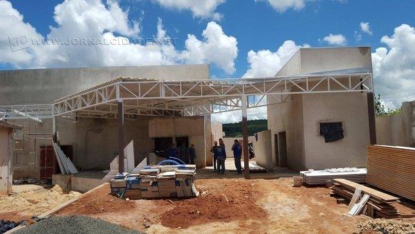 Imóvel está sendo construído em parceria com a empresa COSAN - Rumo Logística, estabelecida no município