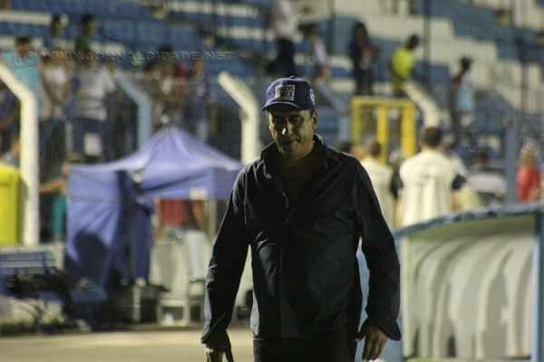 Luis dos Reis em um dos últimos jogos pelo RCFC