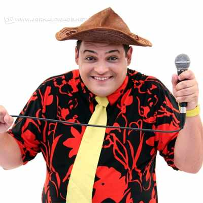 O humorista Matheus Ceará