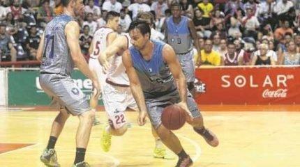 No turno, vitória de Bauru, no Felipão, por 72 a 63