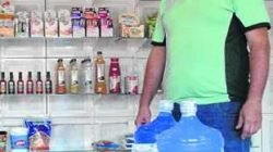 Empresário que trabalha com venda de água revela que a procura por galões é alta no verão