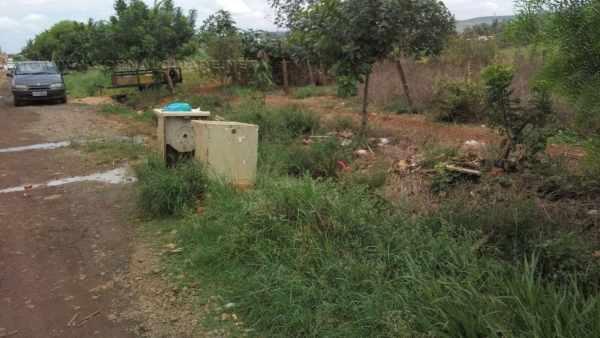 Foto foi encaminhada por moradores do local por meio do WhatsApp do Grupo JC