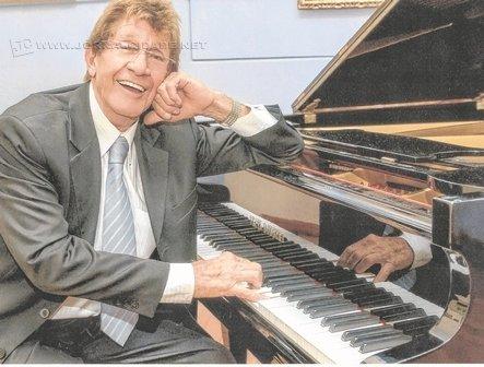 O pianista Eugênio Suffredini Benetti