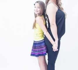 Adriana Arnosti e a filha Frederika