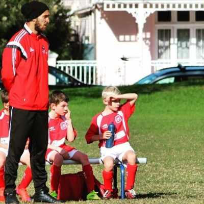 O rio-clarense Luccas Pereira durante treinamento em academia de futebol na Austrália