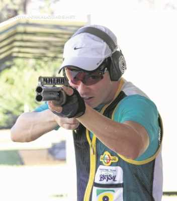 Filipe Fuzaro lidera o ranking nacional na Fossa Double após quatro etapas do Brasileiro de Tiro