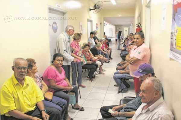 Unidade Básica de Saúde do Jardim Cervezão atendeu a centenas de pessoas nessa quarta-feira (4)