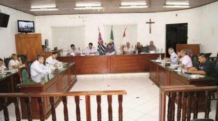 Na foto de arquivo, o ex-presidente da Câmara Municipal, José Luiz Vieira (PMDB), durante sessão, a qual presidia no ano de 2014