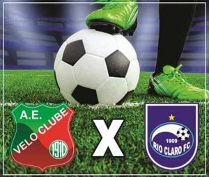 Velo e Rio Claro: torcedores devem marcar presença para assistir ao espetáculo futebolístico