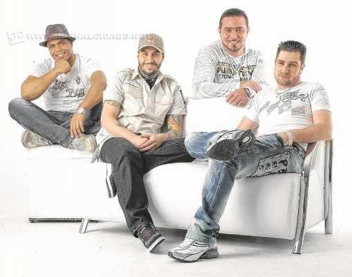 grupo formado por Eder Miguel, Tiago Alexandre, Cauê e Thiagão apresenta seus sucessos hoje